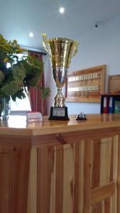Puchar za zajęcie I miejsca w Powiecie